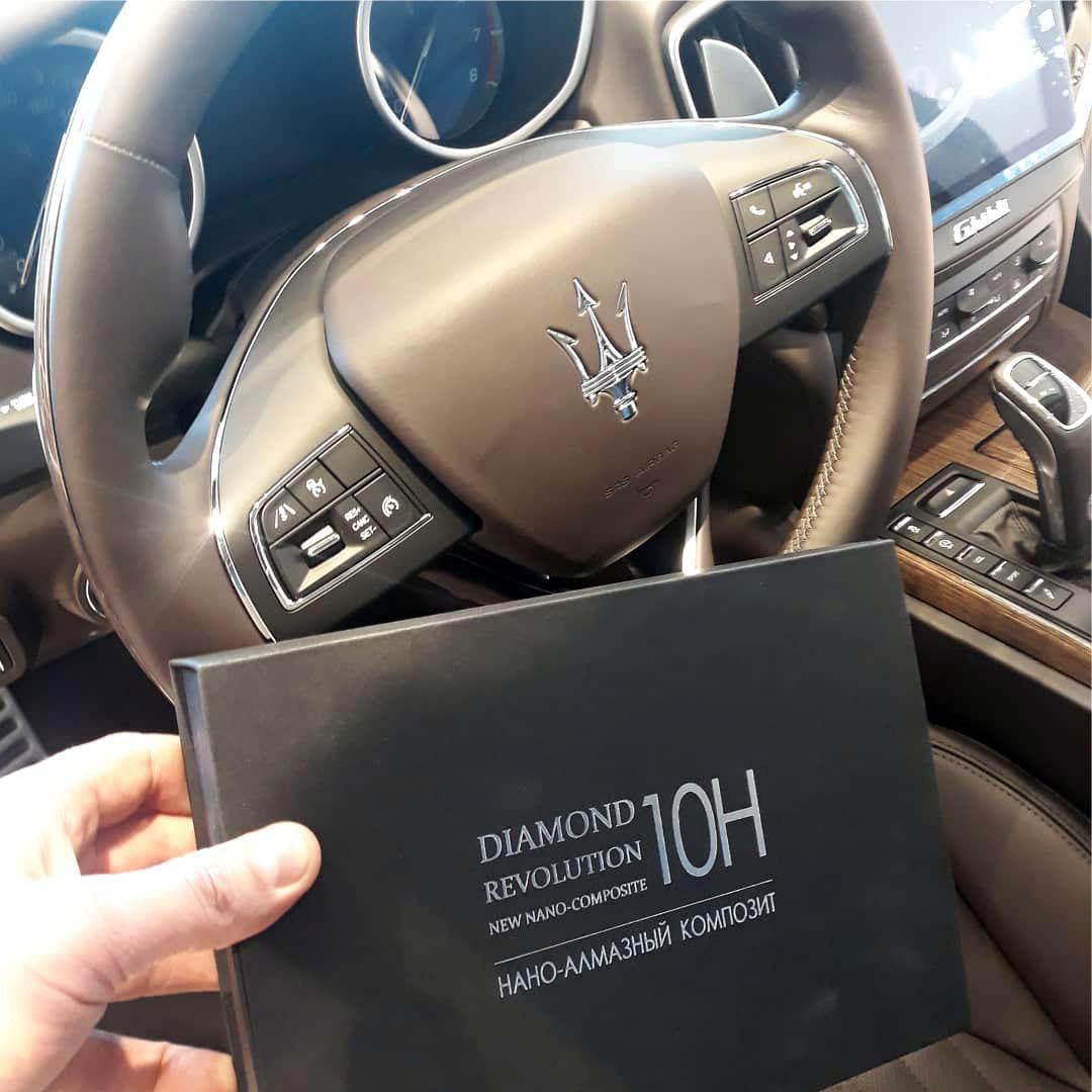 Владельцы «Maserati» выбирают «Diamond 10H»