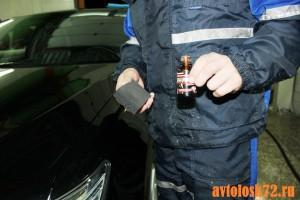 как делается покрытие автомобиля жидким стеклом