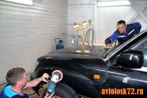 Хорошая полировка автомобилей