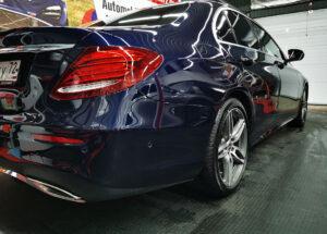 New Mercedes E200: антигравийная пленка SanTek, USA + керамика Opti-Coat, USA