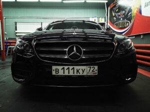 New Mercedes E200: керамика Opti-Coat, USA + антигравийная пленка SanTek, USA