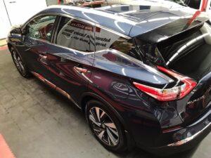 Новый Nissan Murano антигравийная пленка + NXTZEN керамика + шумоизоляция