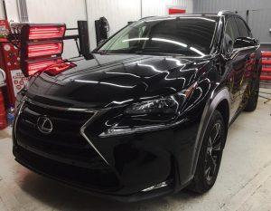 Бронепленка авто Тюмень Lexus